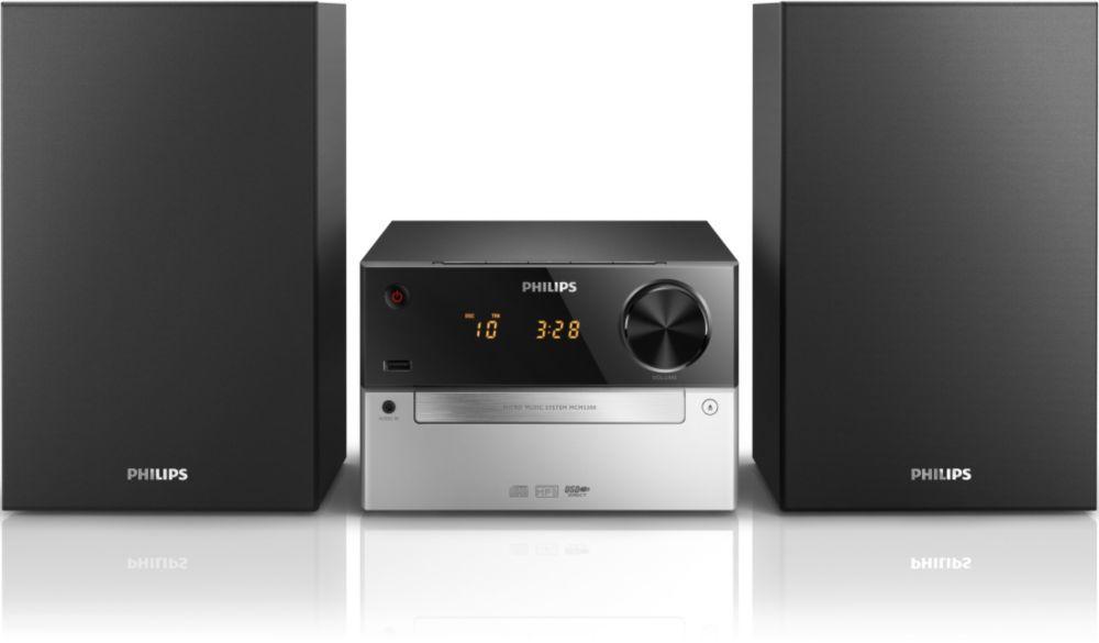 Philips MCM2300 (černo-stříbrný)