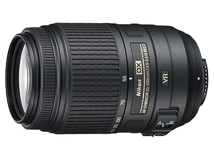 Nikon Nikkor AF-S 55-300mm VR - objektiv