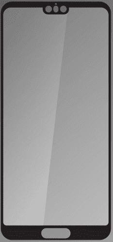 Q sklo tvrzené sklo pro Huawei P20 Pro, černé