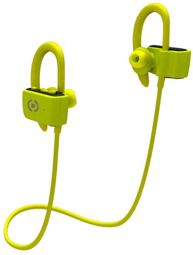 Celly Sport Pro Bluetooth headset žlutý
