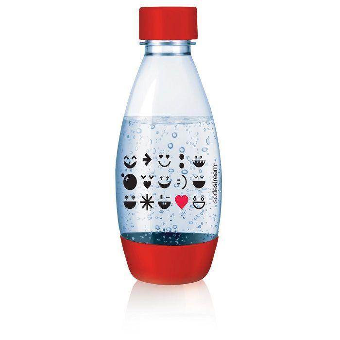 Sodastream Smile Red dětská náhradní láhev (500ml)
