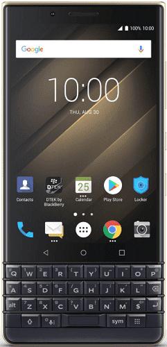 BlackBerry Key2 LE 64 GB modro-zlatý
