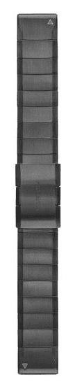 Garmin QuickFit 22 titanový řemínek tmavě šedý