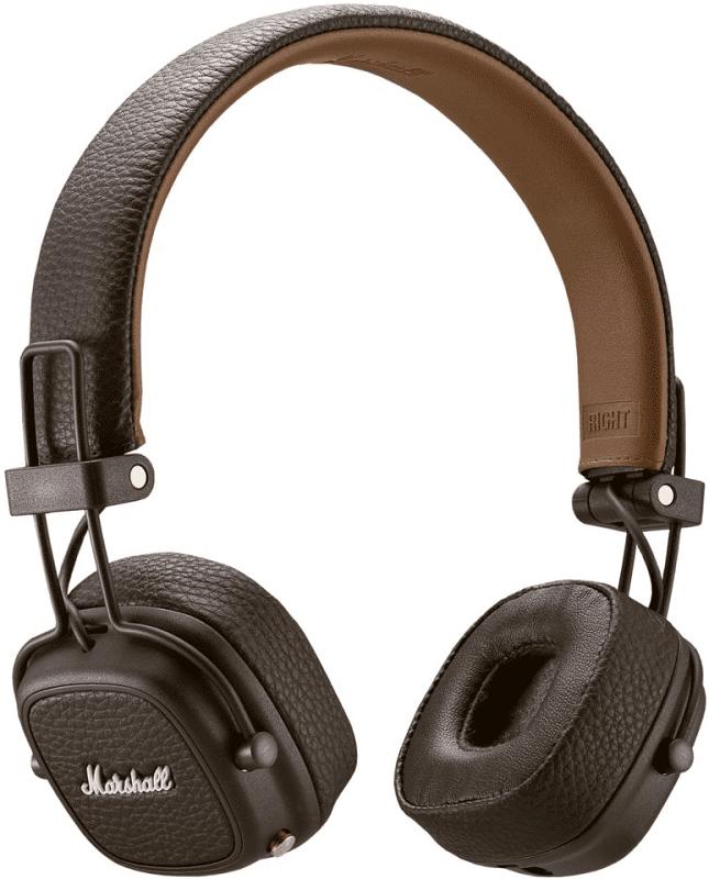 Marshall Major III Bluetooth hnědá