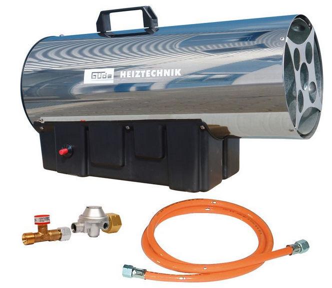 GÜDE GGH 30 INOX, plynové vykurovacie dúchadlo