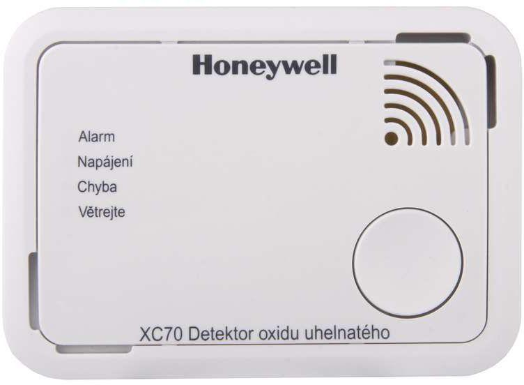 Honeywell XC70-CSSK-A, detektor oxidu uhelnatého