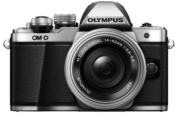 Olympus E-M10 Mark II stříbrná + 14-42 Kit