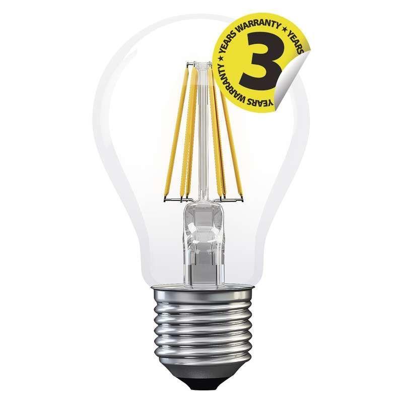 EMOS LED FLM A60 WW, žárovka 4W E27