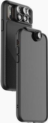 ShiftCam 2.0 6v1 cestovní set pro Apple iPhone Xs, černá