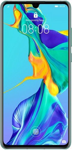 Huawei P30 128 GB bleděmodrý