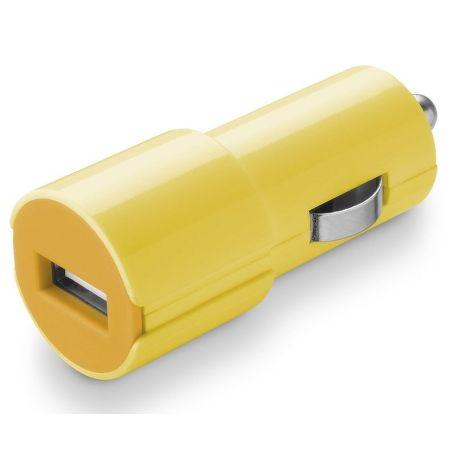 CellularLine Style&Color Autonabíječka (žlutá)