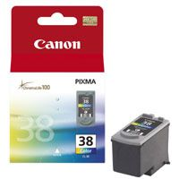CANON CL-38, COLOR Ink Cartridge, BL SEC