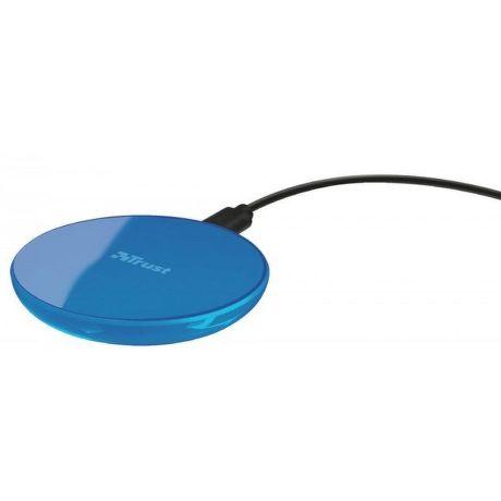 Trust Primo10 bezdrátová nabíječka, modrá