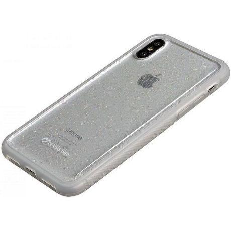 CellularLine Selfie pouzdro pro Apple iPhone X/Xs, transparentní