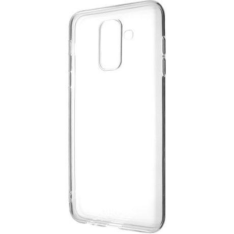 Fixed TPU gelové pouzdro pro Samsung Galaxy A6+ 2018, transparentní