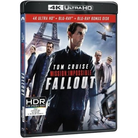 Mission: Impossible - Fallout - Blu-ray + 4K UHD film