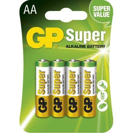 GP Super LR6 (AA), 4 ks