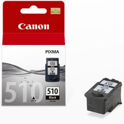 CANON PG-510, Black Ink Cartridge, BL SEC