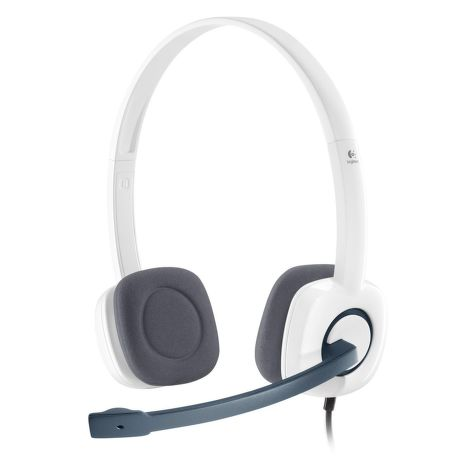 Logitech Stereo Headset H150 Coconut, 981-000350