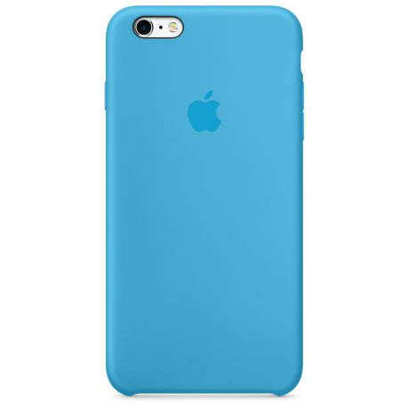 APPLE iPhone 6s Plus Silicone Case Blue MKXP2ZM/A