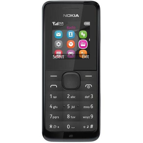 Nokia 105 Dual SIM (černý)
