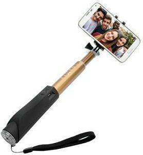 Fixed Bluetooth selfie tyč, zlatá
