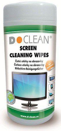 D-Clean 2DCL107 - vlhčené utěrky na obrazovky D11