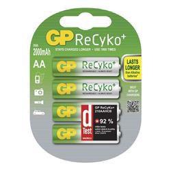 GP B0827G ReCyko+ - AA (HR6) 2 000mAh, 4 ks