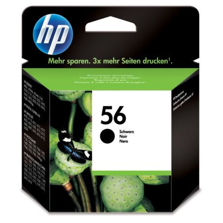 HP C6656AE No.56 black - atrament