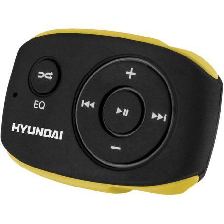 Hyundai MP 312 4GB - MP3 přehrávač (černo-žlutý)