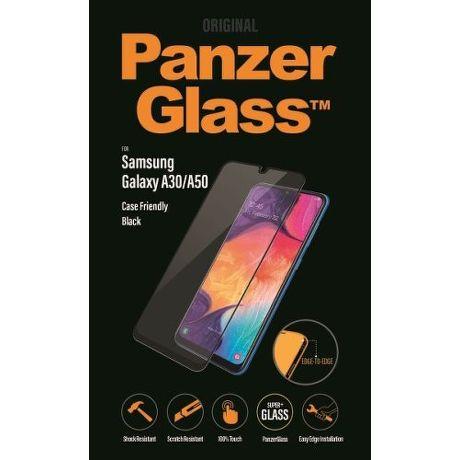 PanzerGlass ochranné sklo pro Samsung Galaxy A50/A30, černá