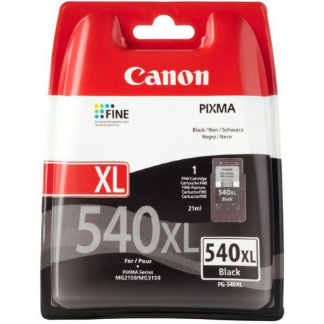 CANON PG-540 XL Black Ink Cartridge, BL SEC