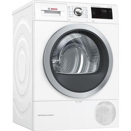 BOSCH WTWH761BY, bílá smart  sušička prádla