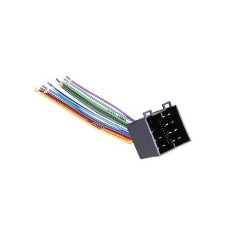 45773 ISO konektor (samec) - volné káble