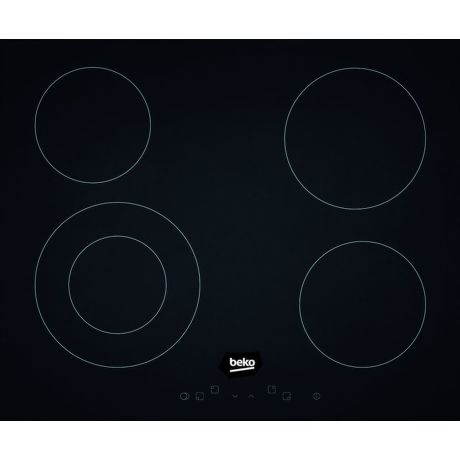 Beko HIC 64401 - černá sklokeramická varná deska