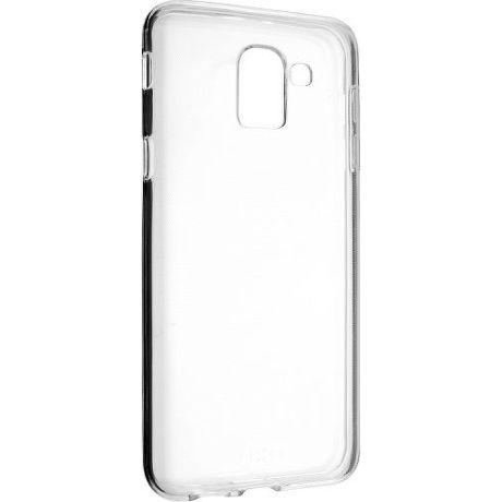 Fixed TPU gelové pouzdro pro Samsung Galaxy J6, transparentní