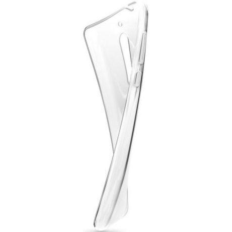 Fixed TPU gelové pouzdro pro Samsung Galaxy A8 2018, transparentní