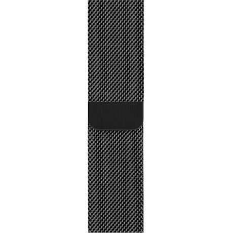 Apple Watch 44 mm řemínek milánský tah, vesmírně černý
