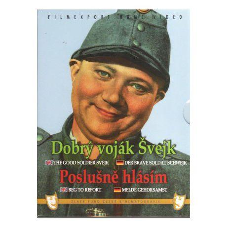 DVD F - Dobry vojak Svejk Poslusne hlasim