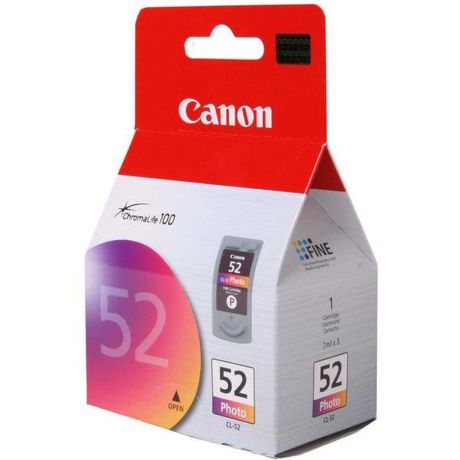 CANON CL-52, PHOTO Ink Cartridge, BL SEC