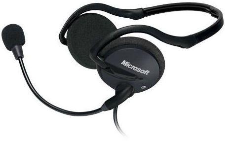 Microsoft LifeChatTM LX-2000 - sluchátka s mikrofonem