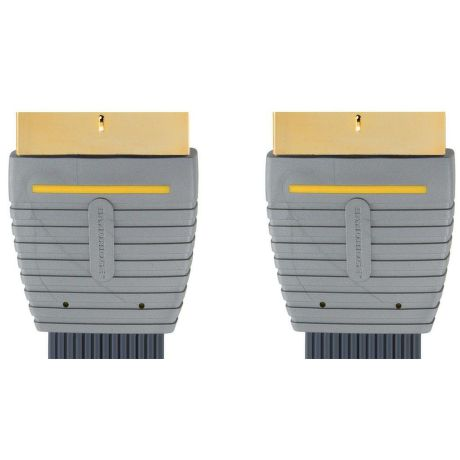 Bandridge BVL 7310 - plochý kábel SCART - SCART, 10m