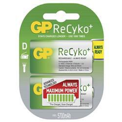 GP B0842 ReCyko+ - mono D (HR20) 5700mAh, 2ks