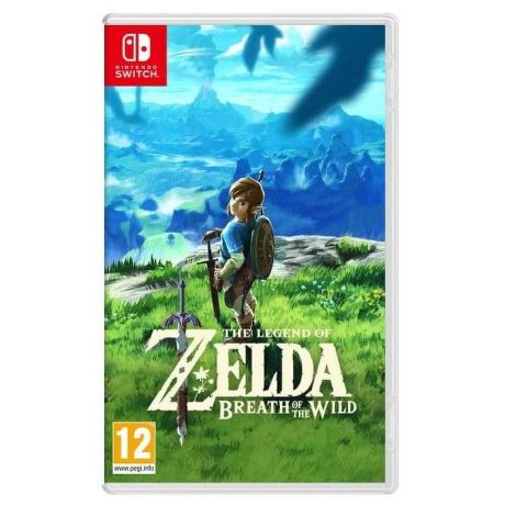 Nintendo Switch Hra The Legend of Zeld: Breath of the Wild