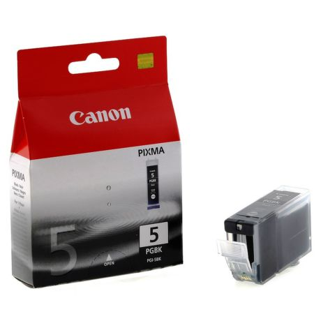 CANON PGI-5 BK, Black ink Cartridge, BL SEC