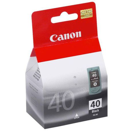 CANON PG-40, Black ink Cartridge, BL SEC