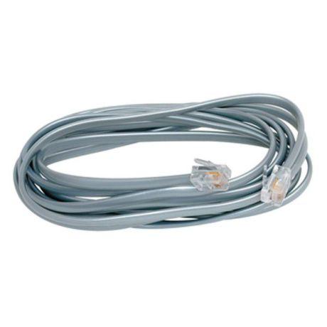 SOLID SST0105 Telefónny kábel, RJ11 konektor - RJ11 konektor, 5,0 m