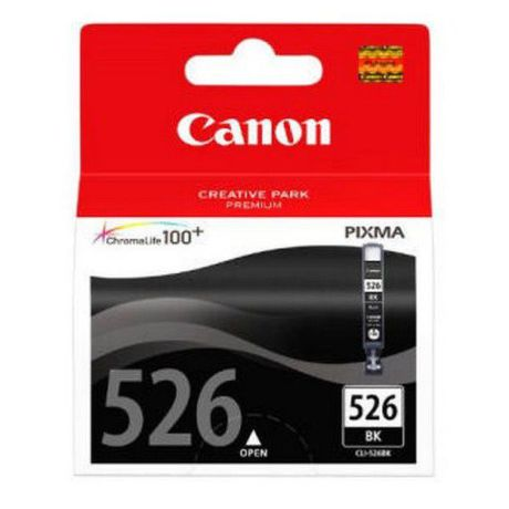CANON CLI-526BK, BLACK ink cartridge BL SEC