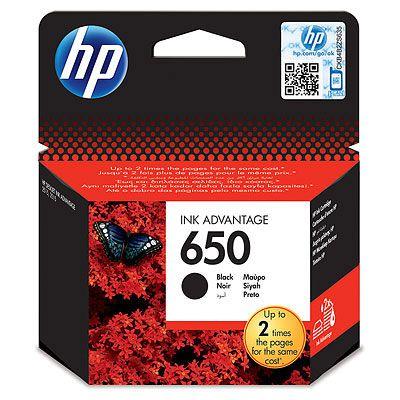 HP CZ101AE BLACK náplň No.650 Blister