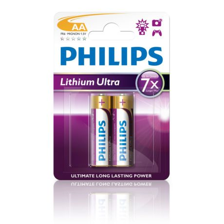PHILIPS FR6LB2A/10 Litiová